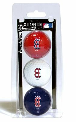Boston Red Sox MLB 3 Ball Pack