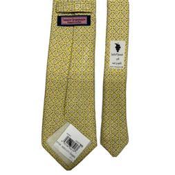 Vineyard Vines Boy's Golf Clubs Classic Yellow Silk Tie