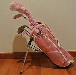 Brand New Ciscobay  Kids Golf Clubs Junior Golf Club Pink Co