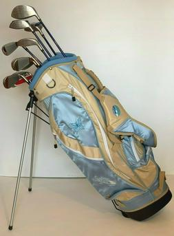 Brand New Ciscobay Hybrid Golf Clubs Ladies Club Blue Set 17