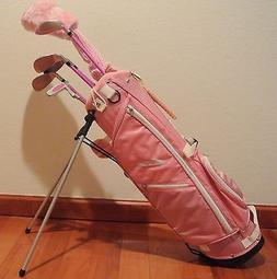 Brand New Ciscobay Golf Pink Girls Kids Golf Clubs Junior Se