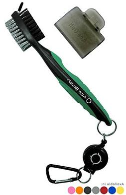 Golf Brush and Club Groove Cleaner