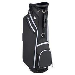 "Wilson ""W"" Cart Golf Bag, Black"