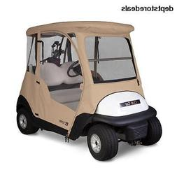 Classic Accessories Fairway Deluxe 4-Sided 2-Person Golf Car