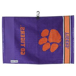 Team Effort Clemson Tigers Face/Club Jacquard Towel