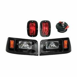 Club Car DS Golf Cart Headlight & LED Tail Light Kit - 1993