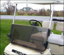 Club Car DS Tinted Clear Fold Down Acrylic Windshield 82-00.