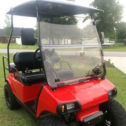 For Club Car DS Tinted Windshield  2000.5 -UP Golf Cart Fold