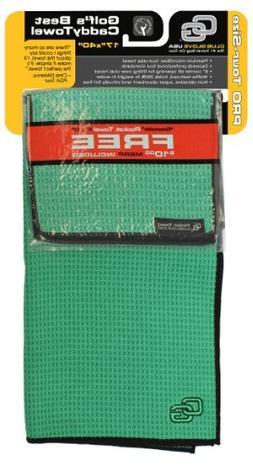 Club Glove Tandem Towel-Green