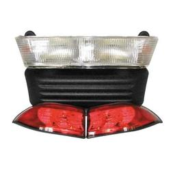 Premium Club Car Precedent Golf Cart Headlight And Led Tail