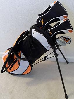 Boys Junior Golf Club Set with Stand Bag for Kids Ages 3-6 O