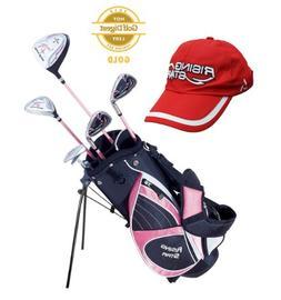 Paragon Golf Girls Golf Club Set, Pink, Ages 5-7 - Right Han