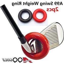 A99 Golf Club Weighted Swing Ring - Swing Warm-Up Tool, Warm