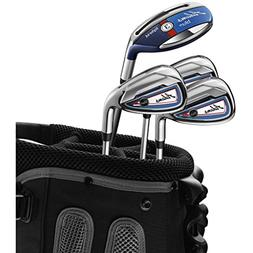 Adams Golf Blue Combo Irons #3, 4, 5-PW Graphite/Steel Regul