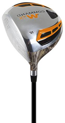 Pinemeadow Golf Men's Command W7X Camo Driver, Right Hand, G