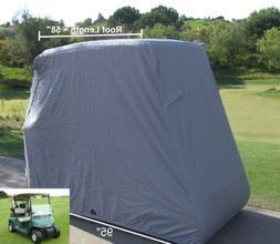 Deluxe 2 Passenger Golf Cart Cover, fits E Z GO, Club Car, 2
