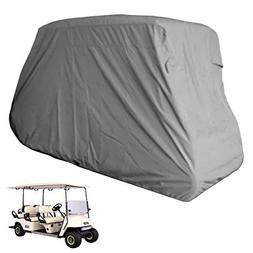 Deluxe 6 Passengers Golf Cart Cover fits E Z GO, Club Car, Y
