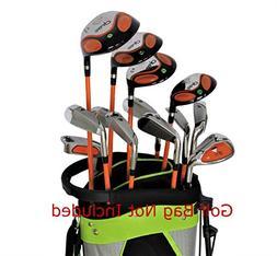 DROC - Dimond Series Right Hand 13 Pcs Golf Clubs Set Age 9