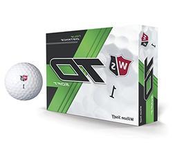 Wilson True Distance W/S True Distance Soft WH 12-Ball, Whit