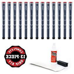 Winn Dri-Tac Standard Grip Kit , Navy Blue