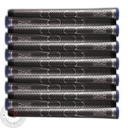 Set of 9 BRAND NEW Winn DriTac Midsize AVS Gray Golf Grip -