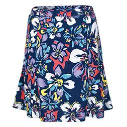 Monterey Club Ladies Dry Swing Bold Flower Print Skort #2911