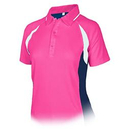 Monterey Club Ladies Dry Swing Double Side Colorblock Piping