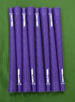 GOLF 8 Pure DTX Grips - Midsize - Purple - Includes Free Bra