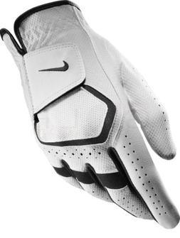 Nike Junior Dura Feel VII White Golf Glove, Left Hand, Small