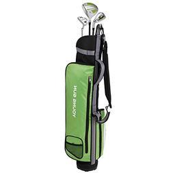 Young Gun ZAAP EAGLE GREEN Junior golf club Youth Set & bag