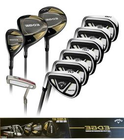 Callaway EDGE 10-Piece Golf Clubs Set 10.5 Regular Right Han