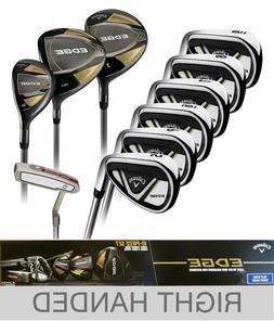 Callaway EDGE 10-Piece Men's Golf Clubs Set Right Handed Sti