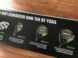 Callaway EDGE 10-Piece Men's Graphite Golf Clubs Set 10.5 Re