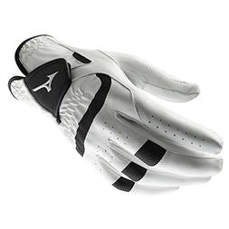 Mizuno Elite Men's Golf Glove, Left Hand, Small Cadet, White
