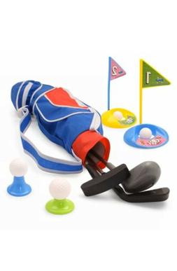 EXERCISE N PLAY Deluxe Happy Kids/Toddler Golf Clubs Set Gro