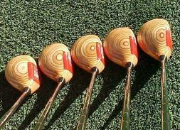 Ping Eye 2 Clubs Woods Refinish Blonde Set Driver 3 4 5 7 w