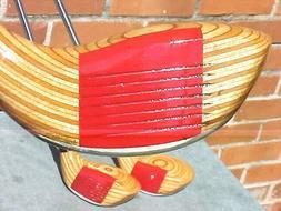 Ping Eye 2 Golf Clubs Woods RH set Driver 3 5 w & New Midsiz