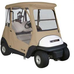 Classic Fairway Club Car Precedent Enclosure - Sand SKU: 40-