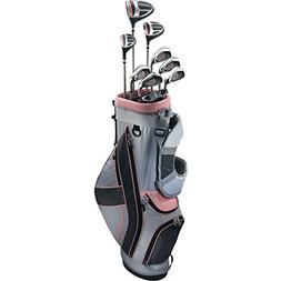 Top-Flite Golf Women's XL 12 Piece Complete Box Bag Set Righ