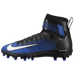Nike New Mens Force Lunarbeast Elite TD Football Cleats Blue