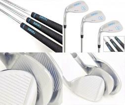 LAZRUS Premium Forged Golf Wedge Set for Men - 52 56 60 Degr