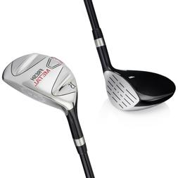 Founders Fresh Metal Golf Clubs Fairway Woods Graphite Shaft