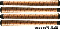 Four  Winn Dri-Tac Wrap Standard Copper Golf Grip-Mens/Men's