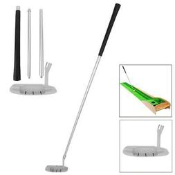 Four-section Foldable Golf Putter Tube Club Right Hand Train