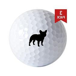 CafePress - French Bulldog - Golf Balls , Unique Printed Gol