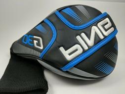 PING G30 Driver Golf Club Head Cover ~ Black/Blue/Silver Hea