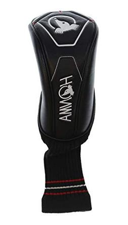 Honma Generic Driver Headcover Black/Red/White