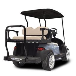 Madjax Genesis 300 Alum. Rear Seat with Standard Buff Cushio