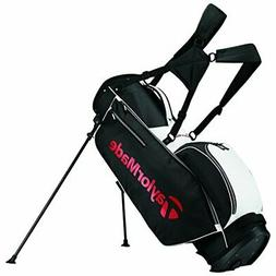 New TaylorMade Golf- 2017 5.0 Stand Bag Black/White/Red