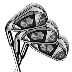 Callaway Golf 2018 Men's Rogue X Iron Set, Right Hand, Stiff